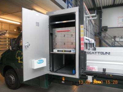 Favori Syncro System - Aménagements de camionnette & véhicules utilitaires BW36